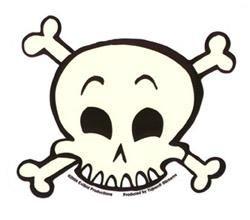 Evilkid Skull Sticker