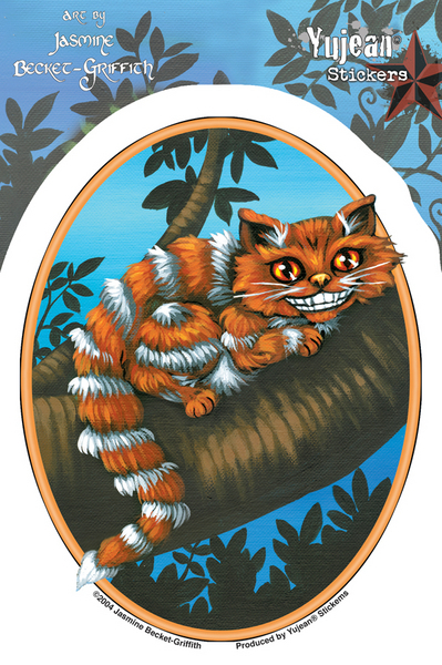 Jasmine's Cheshire Cat | Stickers