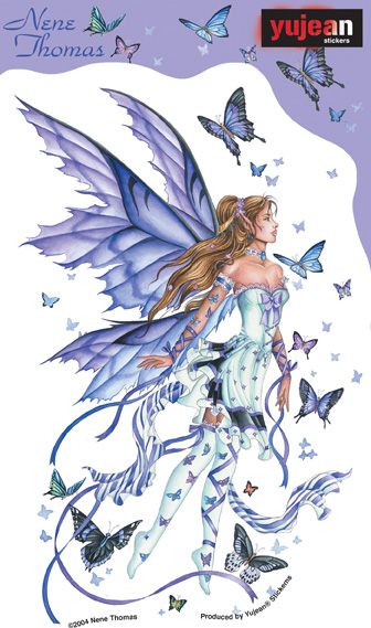 Lavender Serenade Fairy Sticker