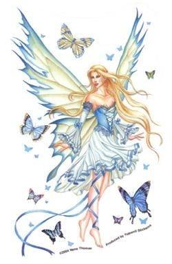 Prelude In Blue Fairy Sticker