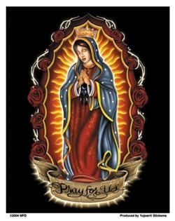 Virgin Of Guadelupe Sticker