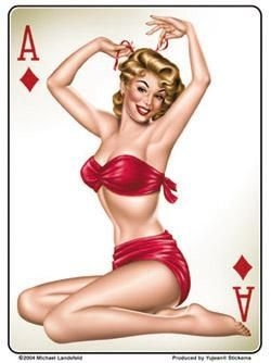 Ace Of Diamonds Sticker