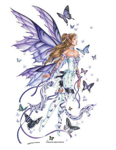 Lavender Serenade Fairy Jumbo 10