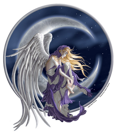 Moon Dreamer Fairy Jumbo Sticker