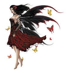 Nene's Flamenco Fairy Sticker