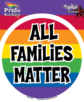 All Families Matter Pride Sticker