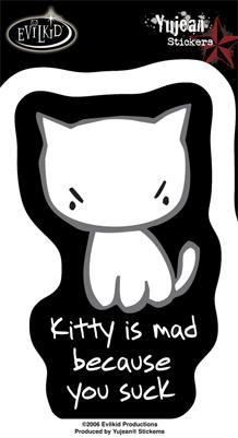 Mad You Suck Sticker
