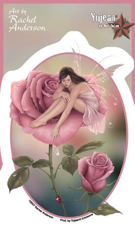 Rose Fairy Sticker