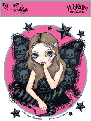 Stars And Fairy Sticker