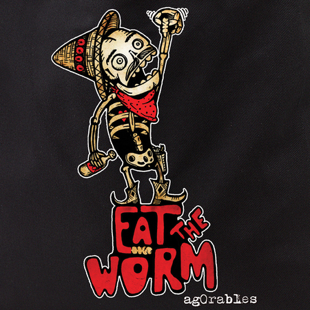 Agorables Eat The Worm Tote Bag | LOL!!!
