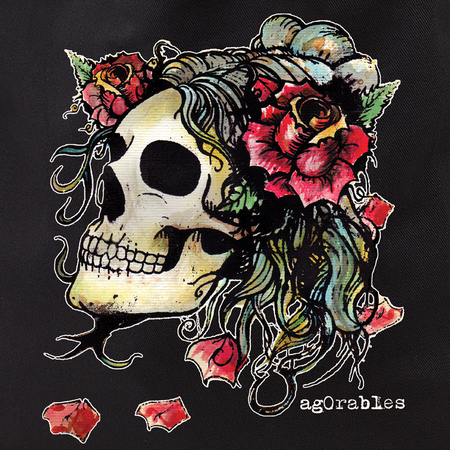 Agorables Rose Skull Tote Bag | Tote Bags