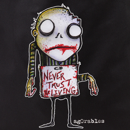 Agorables Never Trust Zombie Tote Bag | Tote Bags