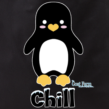 Chill Penguin Tote Bag | Krisgoat