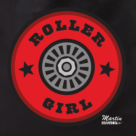Enginehouse Roller Girl Tote Bag | Roller Derby