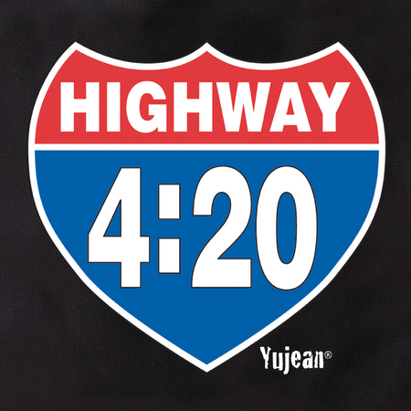 Highway 420 Tote Bag | Cannabis