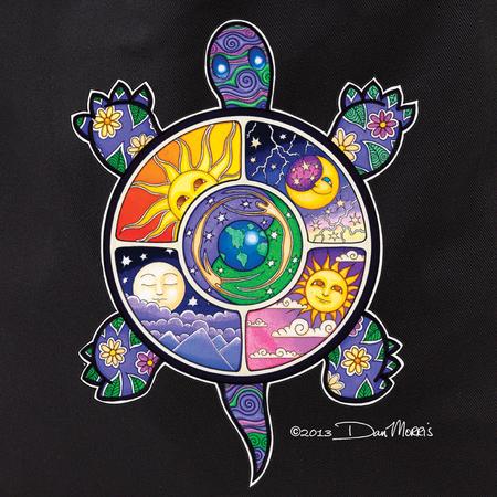 Dan Morris Turtle Tote Bag | Celestial