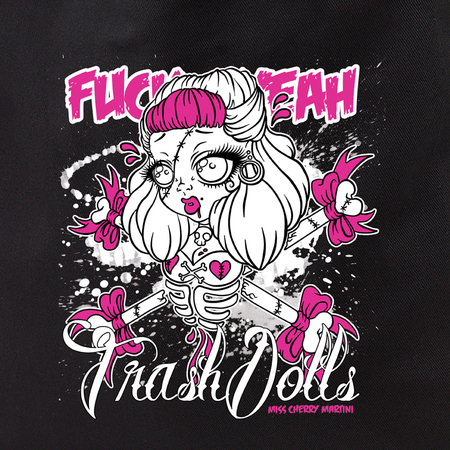 Cherry Martini Trash Dolls tote | Roller Derby