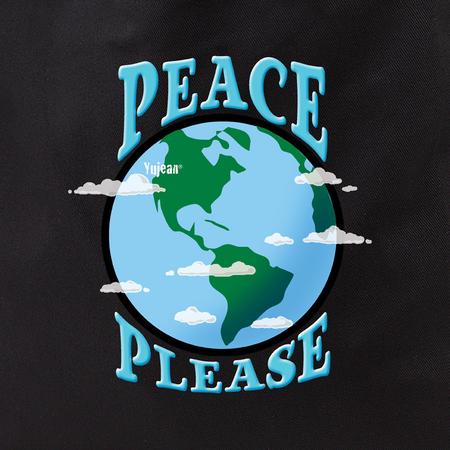 peace please tote   Hippie