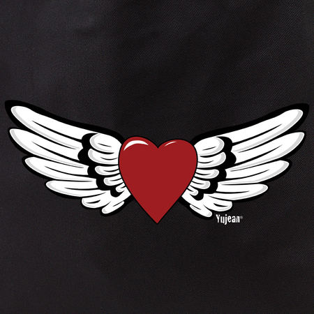 winged heart tote | Tote Bags