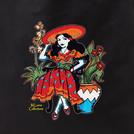 MLuera Vintage Lady Tote Bag | Latino
