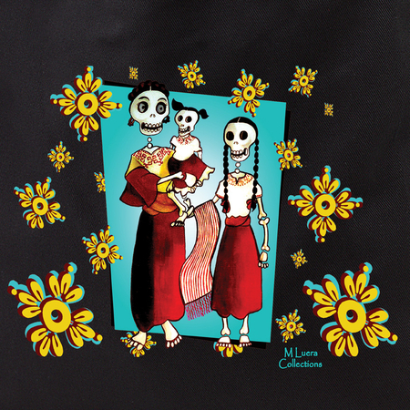 MLuera Dia de los Muertos Tote Bag | Latino