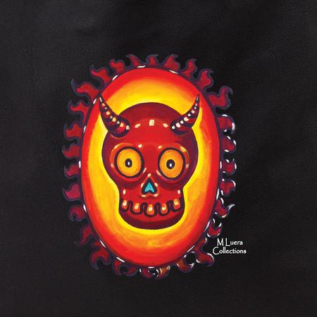 MLuera El Diablo Skull Tote Bag | Latino