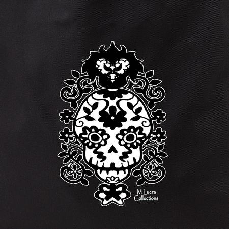 MLuera Filigree Skull Tote Bag | Latino