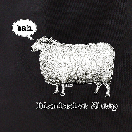 Evilkid Dismissive sheep tote | Tote Bags