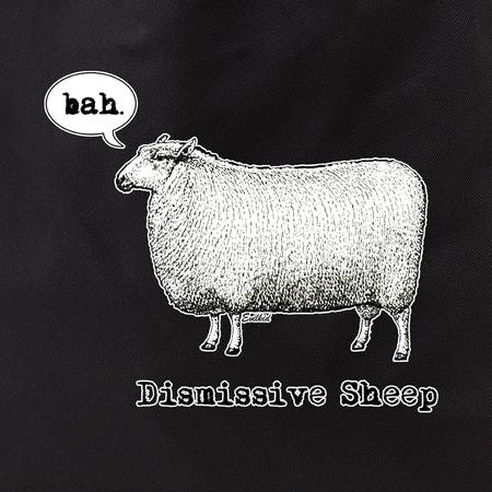 Evilkid Dismissive sheep tote | LOL!!!