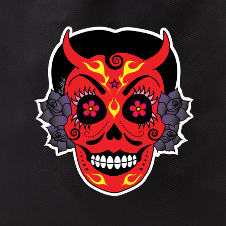 Evilkid la diablita tote | Evilkid