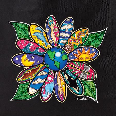 Dan Morris earth blossom tote | Hippie