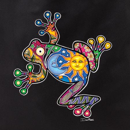 Dan Morris frog tote | Hippie