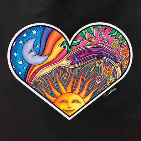 Dan Morris heart tote | Hippie