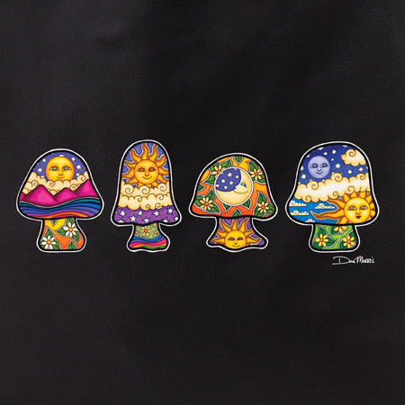 Dan Morris mini mushrooms tote | Tote Bags