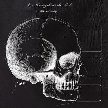 Skull Profile Tote | Tote Bags