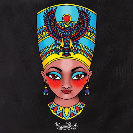 Sunny Buick Nefertiti Tote | Tattoo