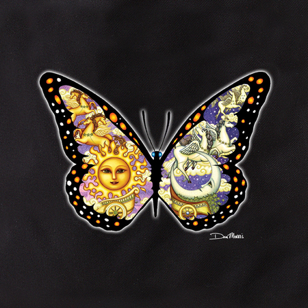 Dan Morris Chariot Butterfly Tote | Butterflies