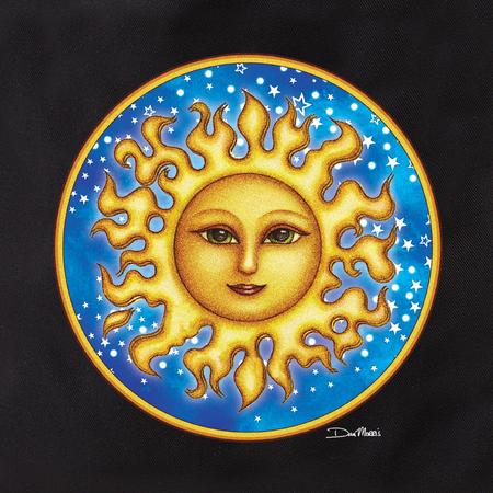 Dan Morris Starry Sun 1 Tote | Tote Bags
