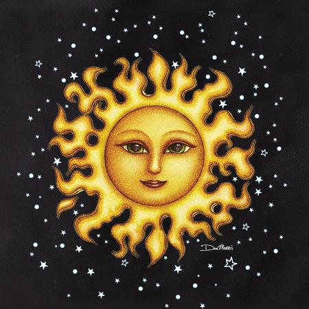 Dan Morris Starry Sun 2 Tote | Tote Bags