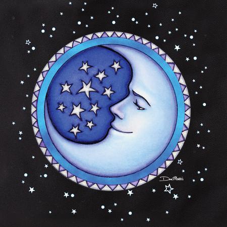 Dan Morris Starry Moon Tote | Tote Bags