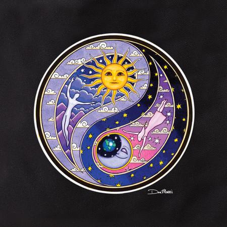 Dan Morris Celestial Yin Yang Tote | Tote Bags