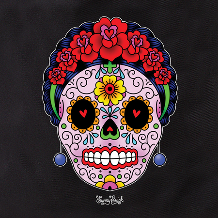 Sunny Buick Calavera Frida Tote | Tote Bags