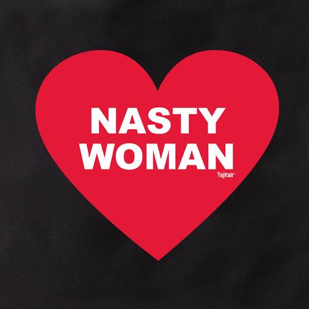 Nasty Woman Tote Bag | Pink #RESIST