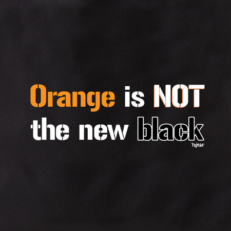 Orange is NOT the New Black Tote | #PINKRESIST