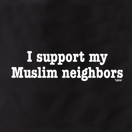 I Support Muslim Neighbors Tote | #PINKRESIST