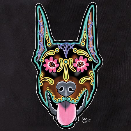 Cali Doberman Cropped Tote | Tattoo