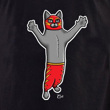 Cali Gato Luchador Tote | Cali: Pretty In Ink
