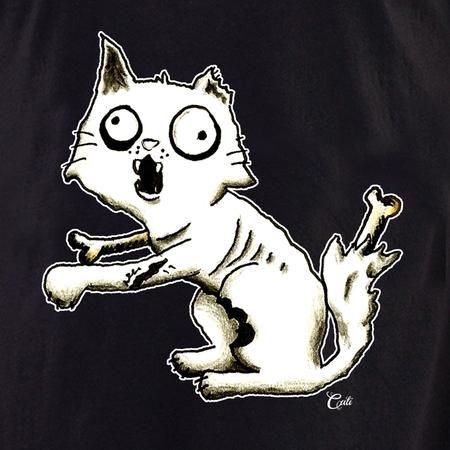 Cali Zombie Kitty Tote | Tote Bags