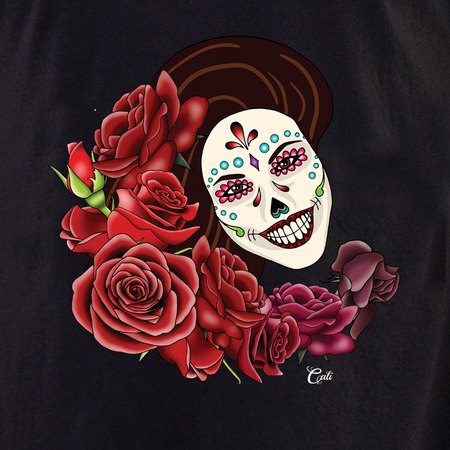 Cali Resting in Roses Tote | Tote Bags