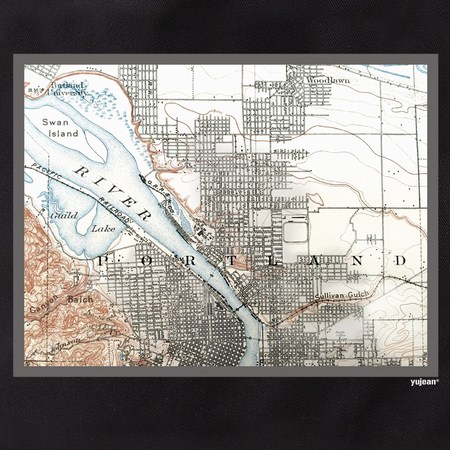 Portland Map Tote | Tote Bags